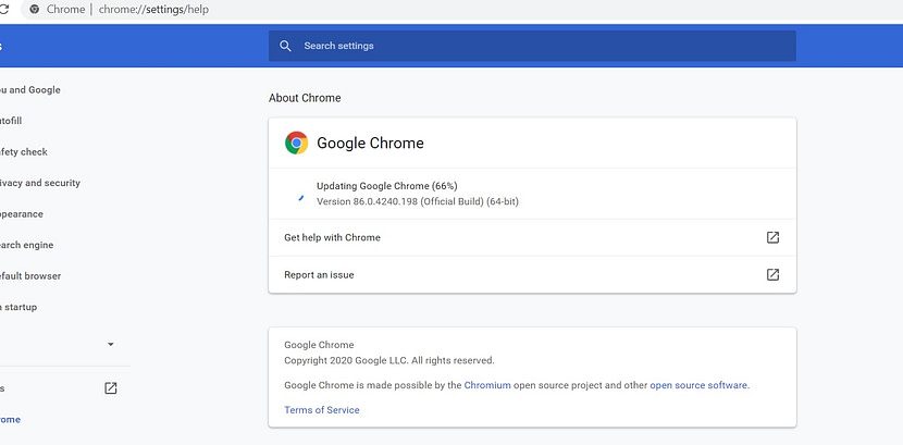 Google Chrome 87 official version released improved performance