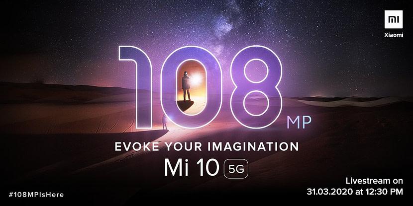 Xiaomi Mi 10 5G set to launch in India next week