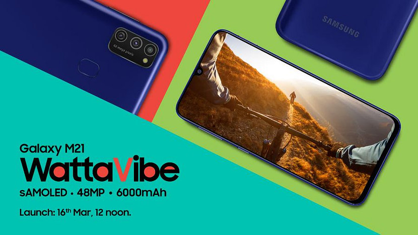 Relaunching Samsung Galaxy M30s as M21 set to debut on 16 March