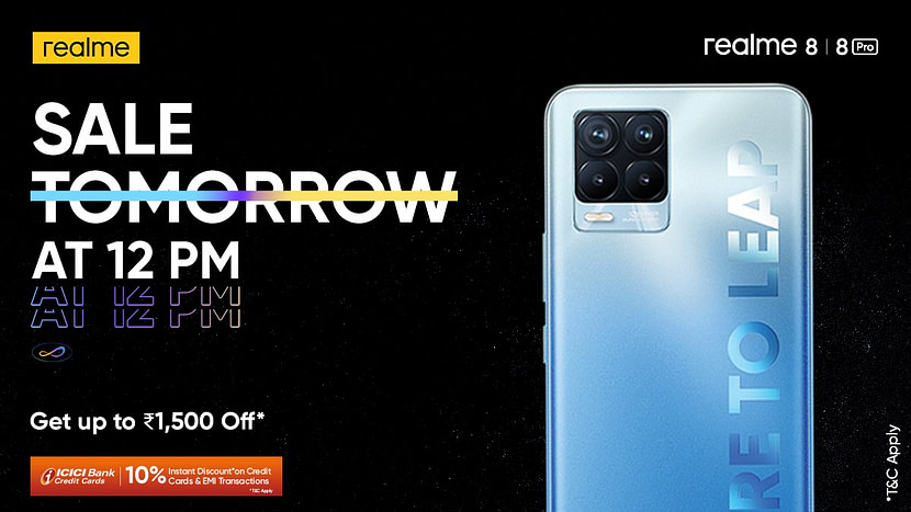 Realme 8, 8 Pro launched in India: Price, Specifications