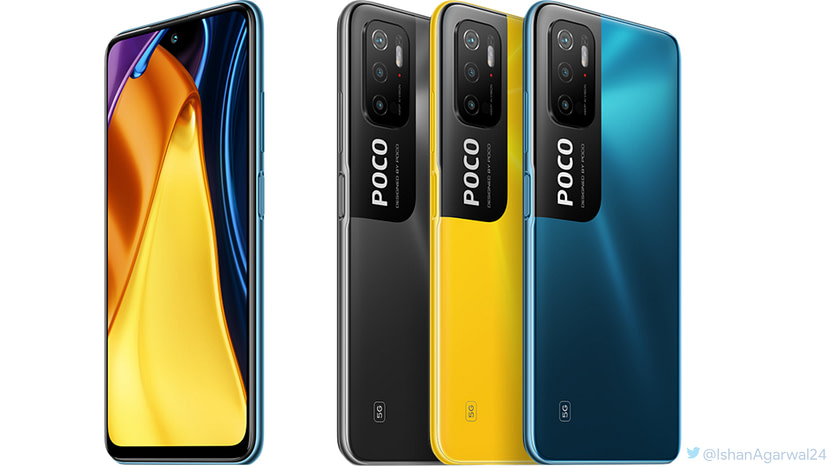 POCO M3 Pro 5G specifications render: Global Launch on May 19th
