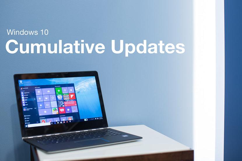 Window 10 Cumulative Update version KB4541335